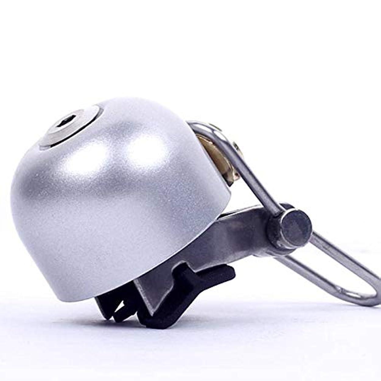 ありふれた放つ運営Wecando 自転車ベル(ゴールド) 自転車リングベル 金属製 大音量 簡単に取り付け 調整可能 自転車ハンドルベル