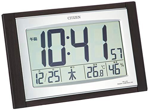 CITIZEN (シチズン) 電波 置き ・ 掛け時計 パルデジットコンビR096 8RZ096-023
