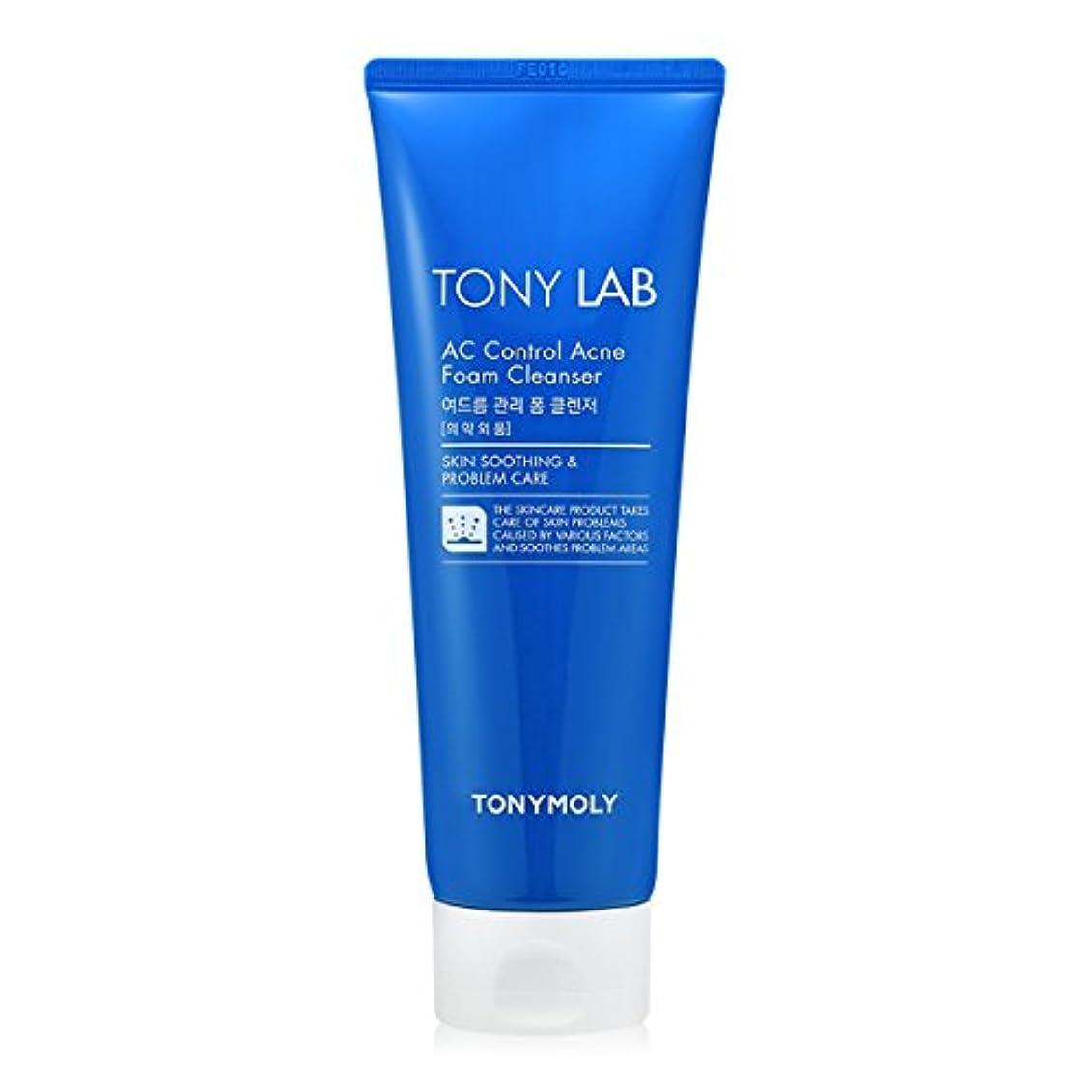 繊維儀式救い[New] TONYMOLY Tony Lab AC Control Acne Foam Cleanser 150ml/トニーモリー トニー ラボ AC コントロール アクネ フォーム クレンザー 150ml