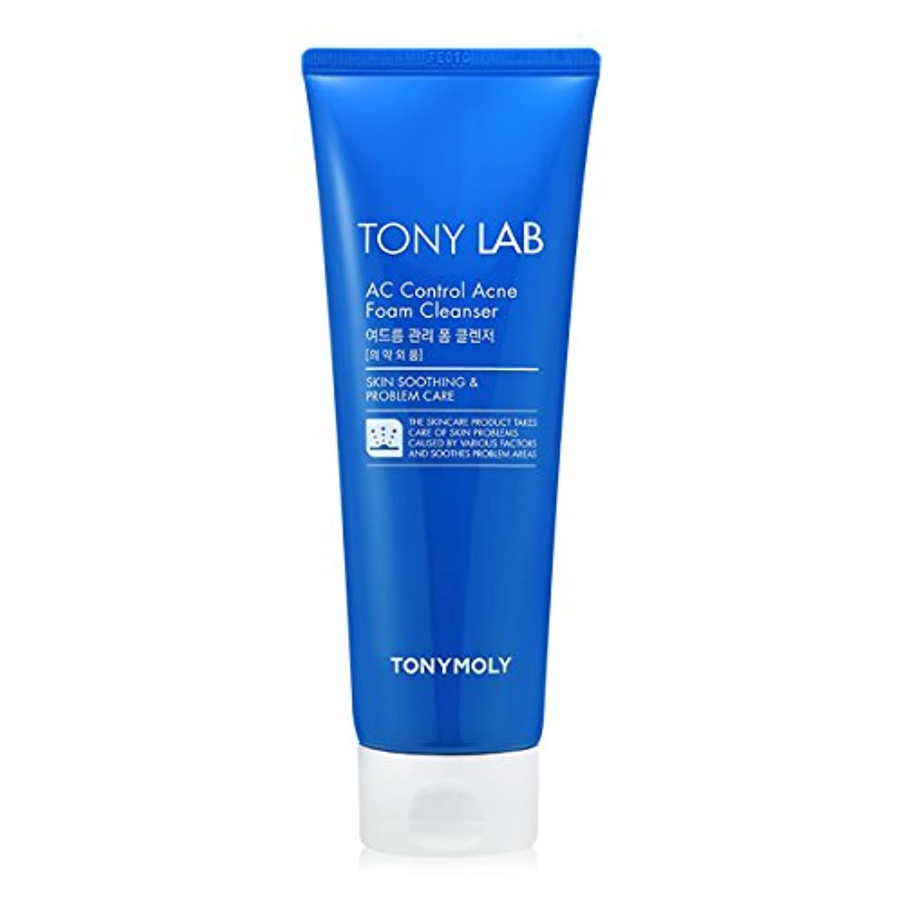袋抱擁半ば[New] TONYMOLY Tony Lab AC Control Acne Foam Cleanser 150ml/トニーモリー トニー ラボ AC コントロール アクネ フォーム クレンザー 150ml