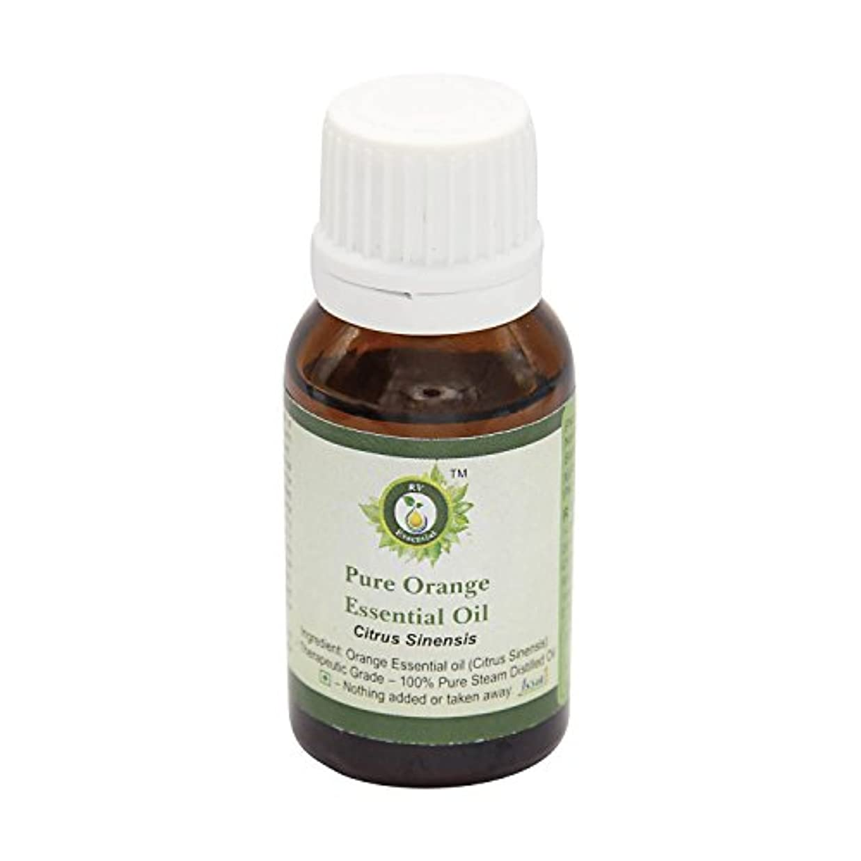 酸素サンプルペルーR V Essential ピュアオレンジエッセンシャルオイル30ml (1.01oz)- Citrus Sinensis (100%純粋&天然スチームDistilled) Pure Orange Essential Oil