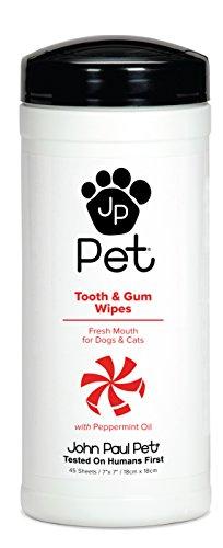 ジョンポールペット (John Paul Pet) 歯&歯ぐきウェットシート