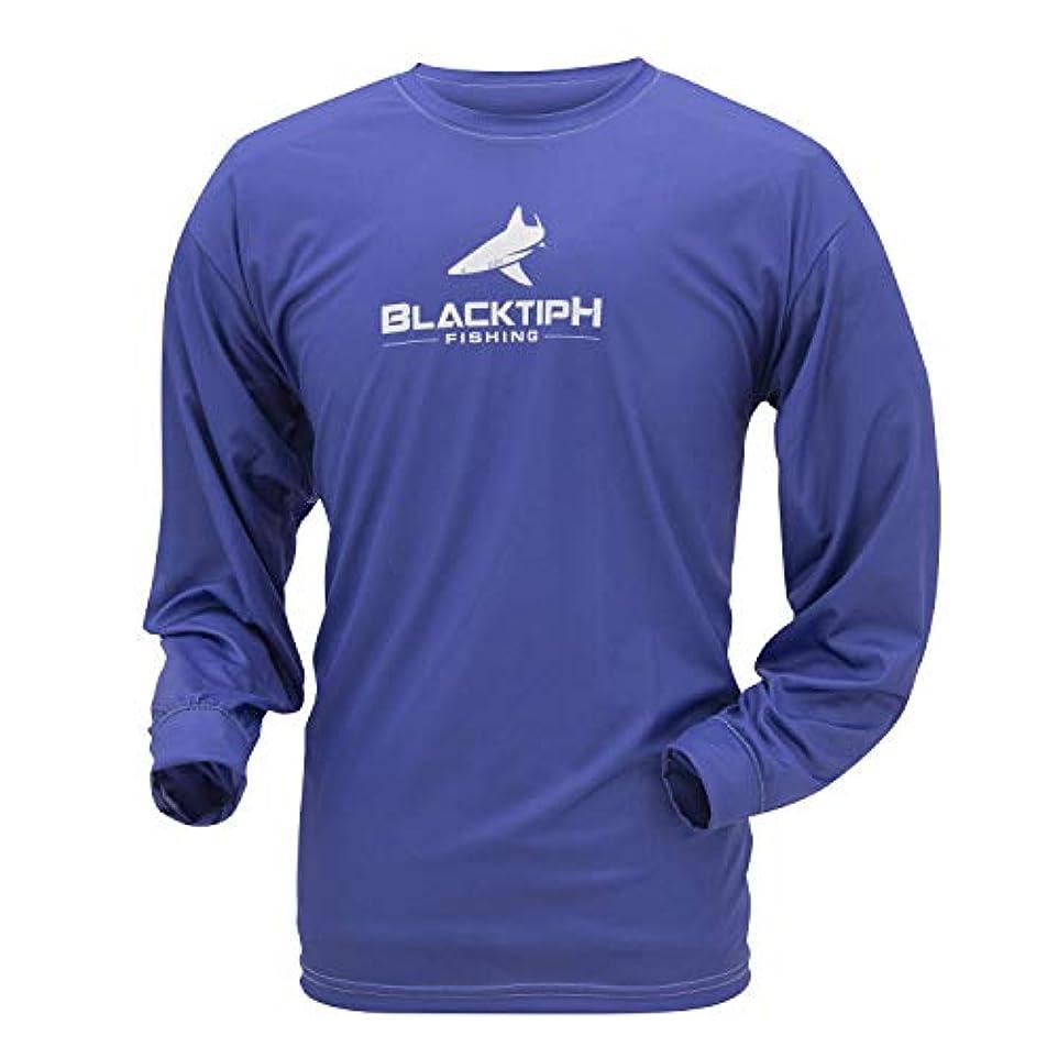 納税者スポーツをするラッドヤードキップリングFrogg Toggs ftlsbth-12 blacktiph長袖パフォーマンスインターロックシャツ、ロイヤルブルーwithホワイトロゴ、3 x l
