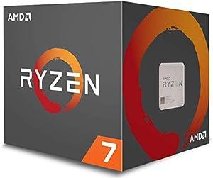 AMD CPU Ryzen7 1700 with WraithSpire 65W cooler AM4 YD1700BBAEBOX