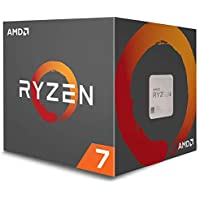 AMD CPU Ryzen7 1700 with WraithSpire 65W cooler AM…