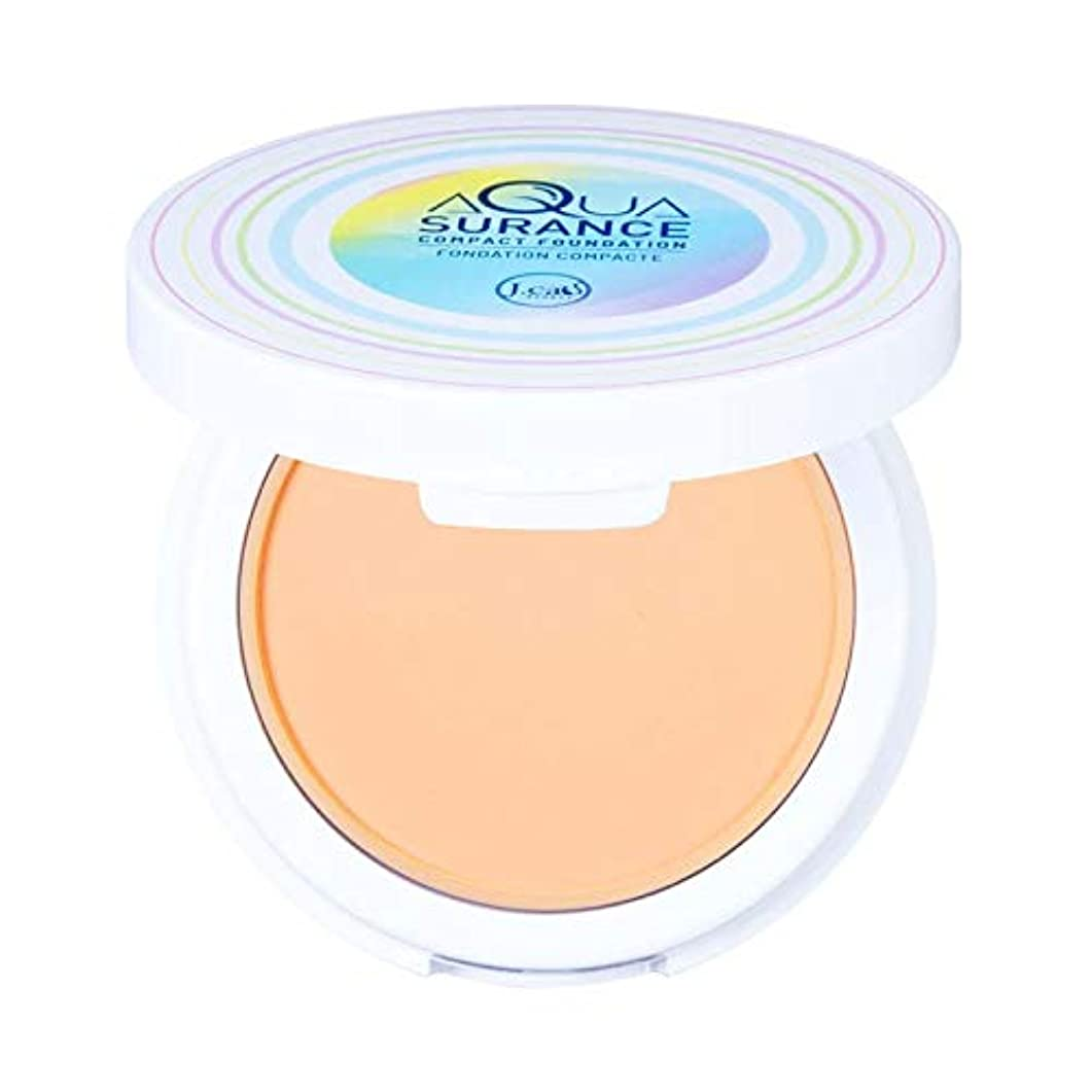 ごみ具体的に表面的なJ. CAT BEAUTY Aquasurance Compact Foundation - Porcelain (3 Pack) (並行輸入品)