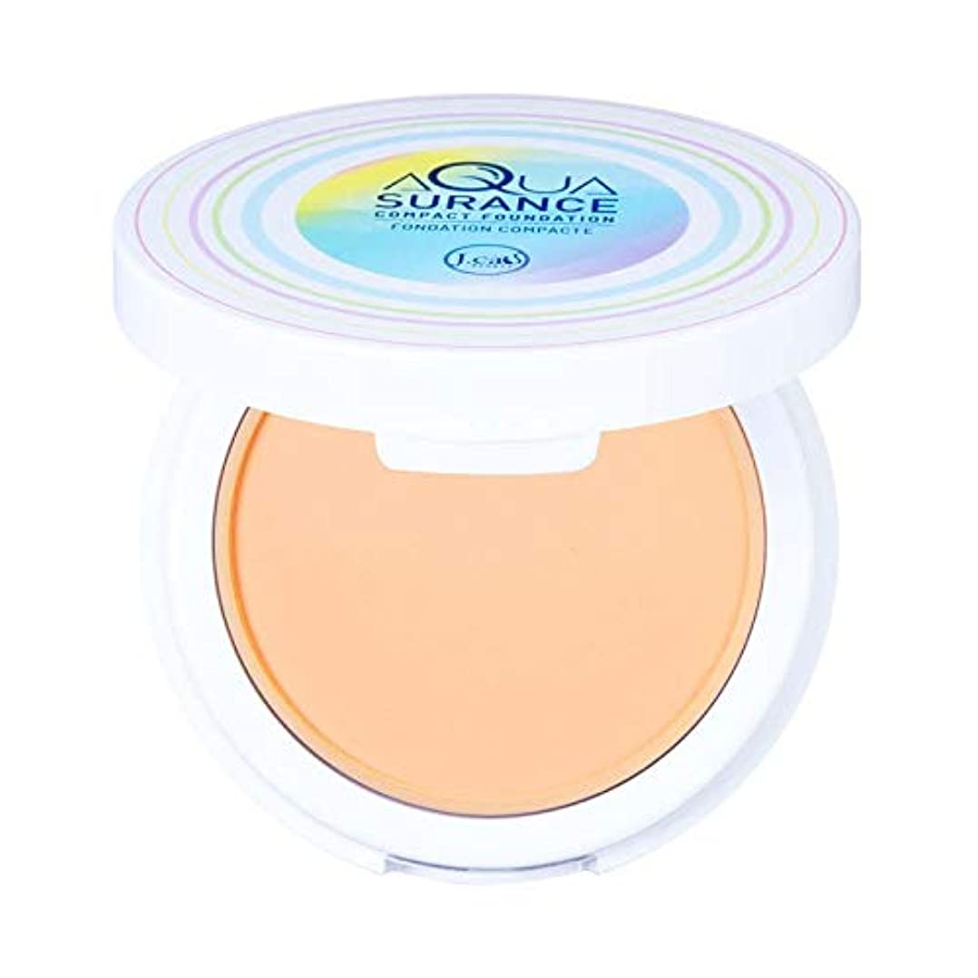 相対的結び目居眠りするJ. CAT BEAUTY Aquasurance Compact Foundation - Porcelain (6 Pack) (並行輸入品)