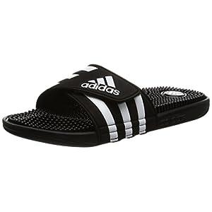 [アディダス] スポーツサンダル ADISSAGE ブラック/ブラック/ランニングホワイト 25.5 cm