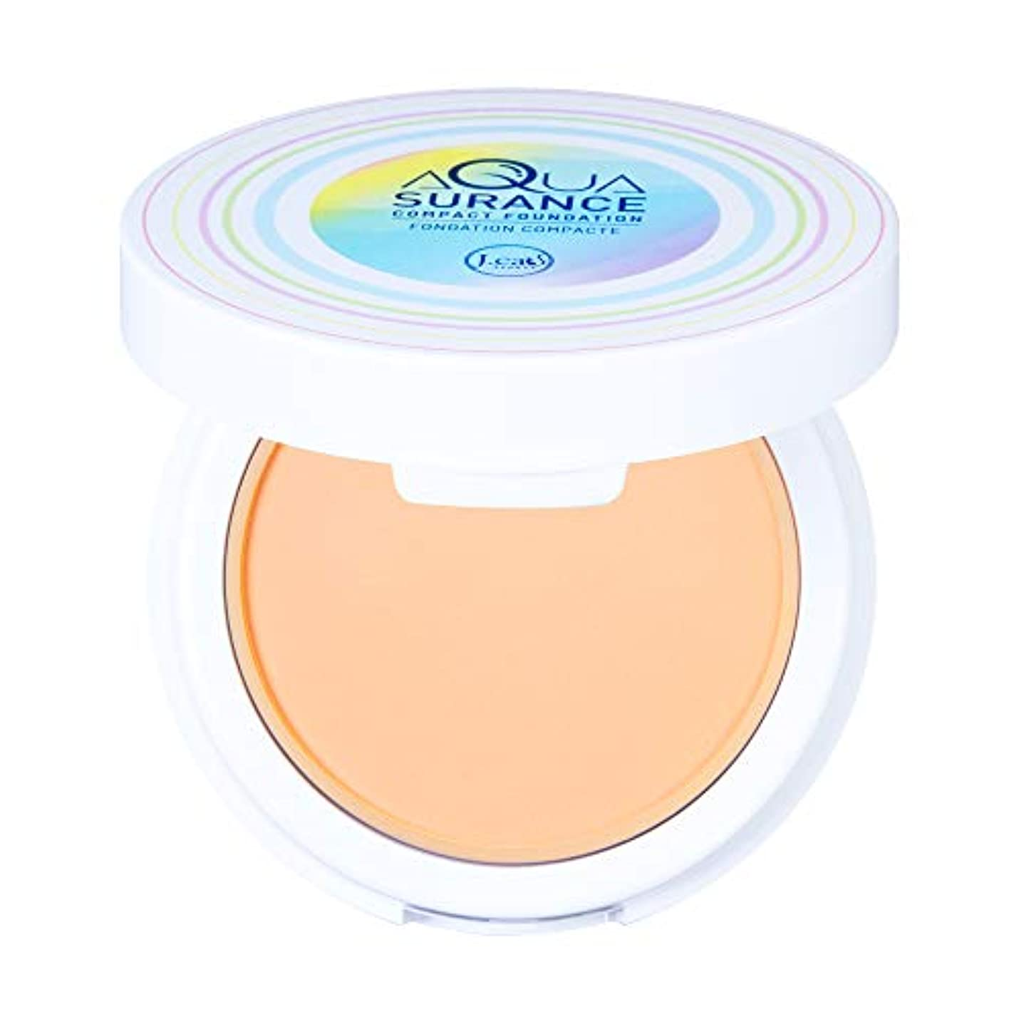 ホバー凝縮する料理J. CAT BEAUTY Aquasurance Compact Foundation - Porcelain (並行輸入品)