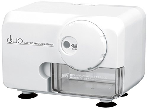 アスカ 電動シャープナーDUO ホワイト 色鉛筆対応 EPS600W