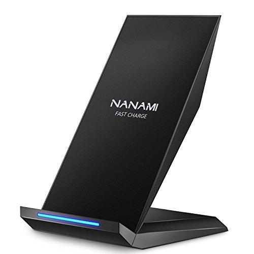 【iPhone X】Qiチャージャー「NANAMI Quick Charge 2.0」でワイヤレス充電を試してみたら思った以上に快適でした