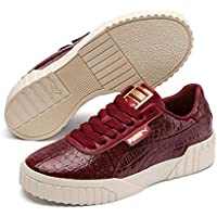 PUMA Women's CALI Croc WN's Sneakers, Pomegranate-Pomegranate