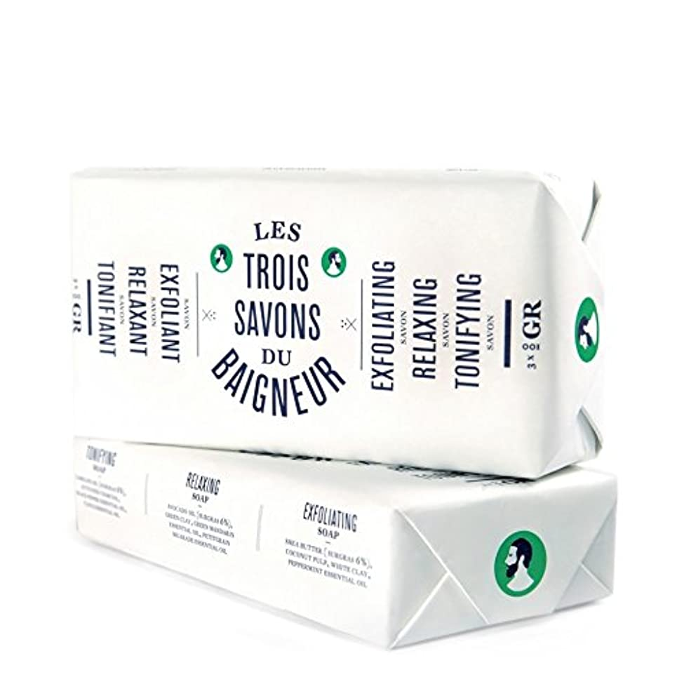 パステル賛辞守るル石鹸セット300グラム x4 - Le Baigneur Soap Set 300g (Pack of 4) [並行輸入品]