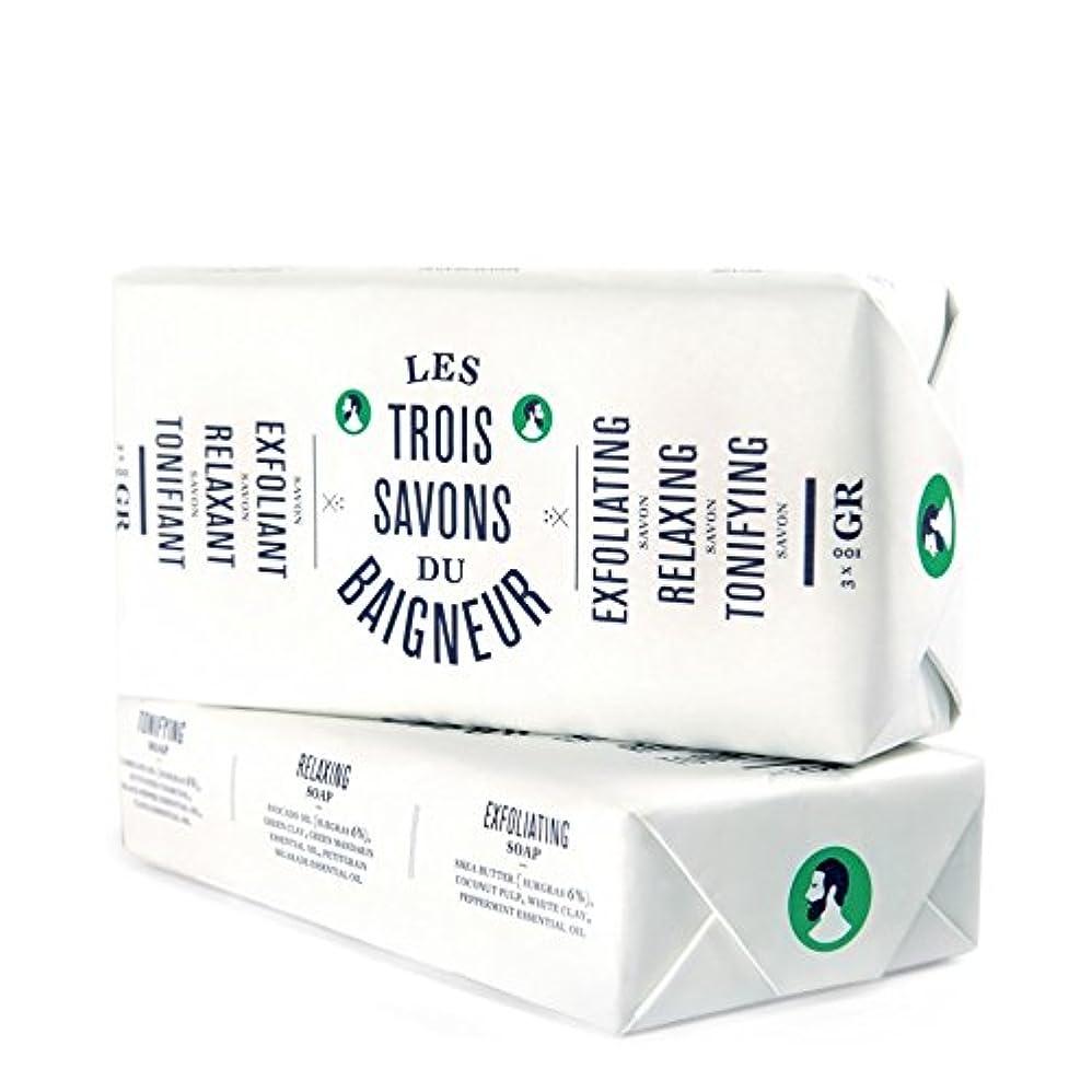ラバむき出しボーナスLe Baigneur Soap Set 300g - ル石鹸セット300グラム [並行輸入品]