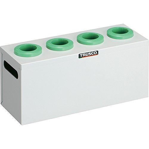 TRUSCO ツーリングケース NT・BT兼用 40用ホルダー4個 W色 WNT404W