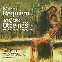 Faure: Requiem & Janacek: Otce Nas by Prague Philharmonia (2010-03-05)