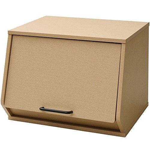 山善『おうちすっきりボックス  取っ手付き』
