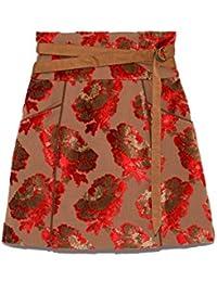 [リリーブラウン] ジャガードミニ台形スカート LWFS185001 LWFS185001 レディース
