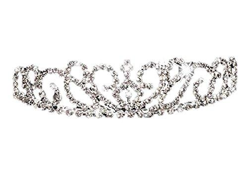 [해외]웨딩 티아라 머리띠 머리 장식 머리 장식 빗 신부 헤어 액세서리/Wedding Tiara Headband Headdress Hair Ornament Comb Bridal Hair Accessory