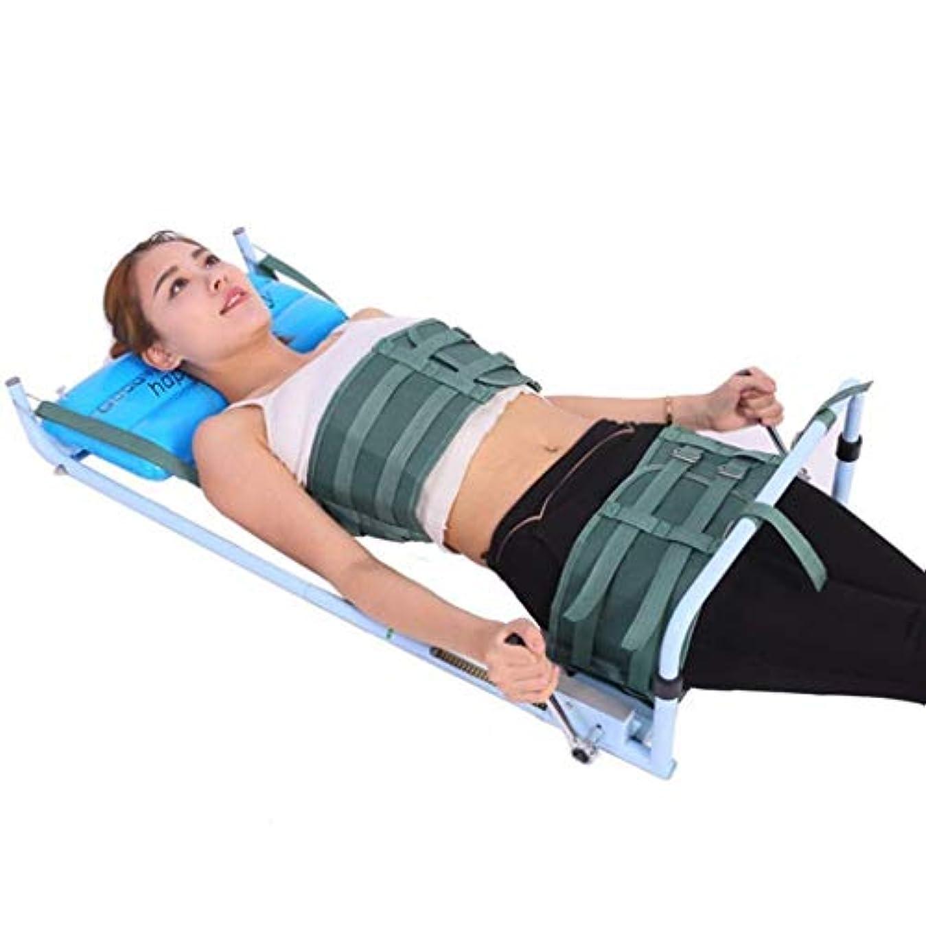 矯正装置、腰椎牽引装置、子宮頸部ストレッチストレッチャー装置、改善された脊椎姿勢装具