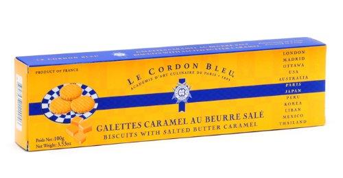 ル・コルドン・ブルー ガレット塩バターキャラメル黄箱入り 100g