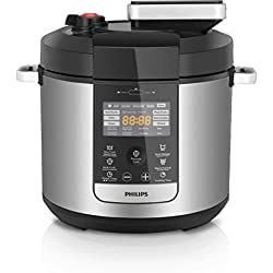 Philips Premium All In One Cooker 6L, Pressure cook, slow cook, saute/sear, HD2178/72