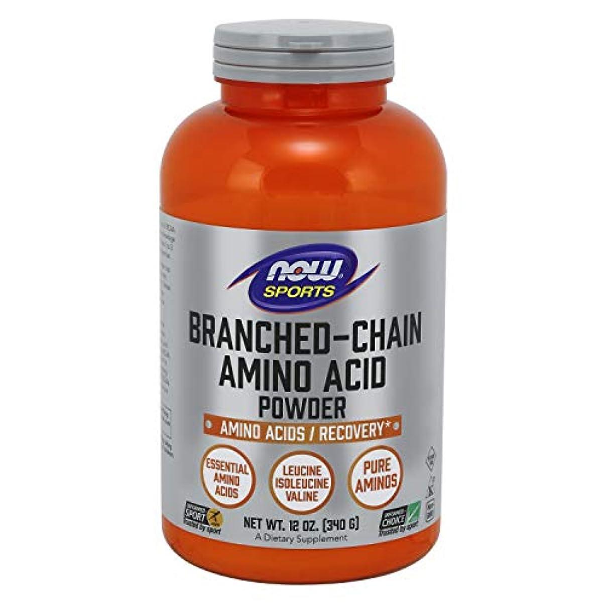 合理的地元洗剤[海外直送品] ナウフーズ ブランチド?チェイン?アミノ酸パウダー 340g