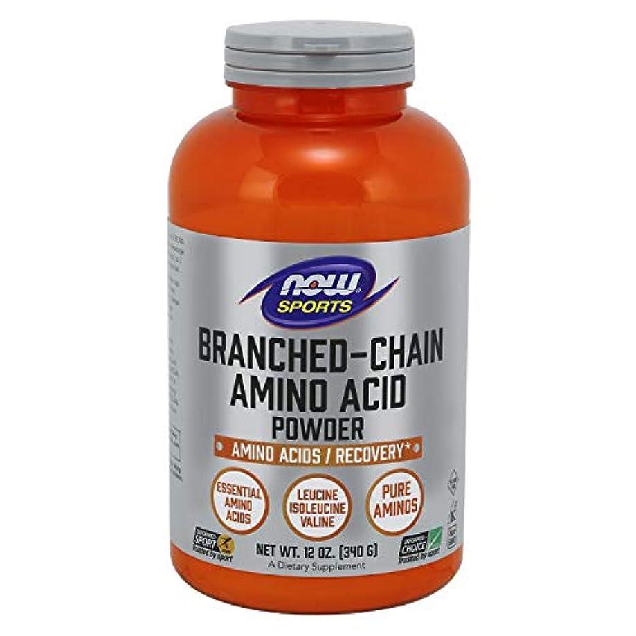 どれか宣伝豪華な[海外直送品] ナウフーズ ブランチド?チェイン?アミノ酸パウダー 340g