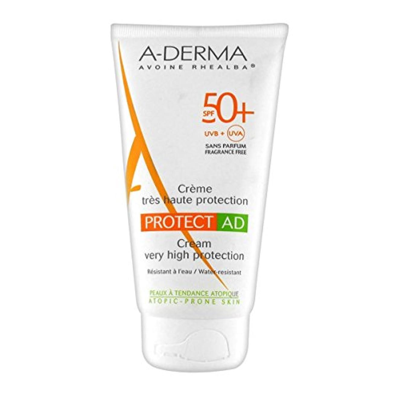 不当スクラブボックスA-derma Protect Ad Cream Spf50+ 150ml [並行輸入品]