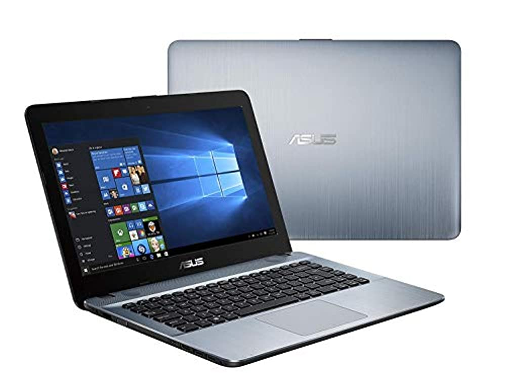 嫌悪ビジター害虫BRAND NEW ASUS English PC, 英語版ノートPC, AMD A6 -9225 with AMD Radeon Graphics 2.60 GHz, RAM: 4 GB, 500 GB HDD, 14 inch HD, Windows 10 Home 64 bit (English), WiFi, Web-Cam, HDMI, Silver Color, Brand New,新品ノート、 Model: ASUS X441B [並行輸入品]