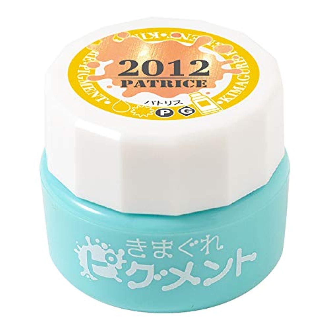 ウイルス廃棄収入Bettygel きまぐれピグメント パトリス QYJ-2012 4g