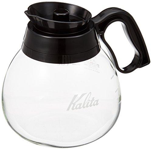 カリタ カリタ Kalita コーヒーデカンタ 耐熱ガラス 1.8L ブラック #32003