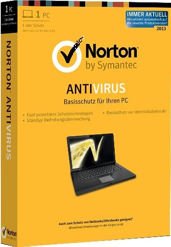 豊富に削る装備するSymantec Norton Antivirus 2013 1User [DE]***