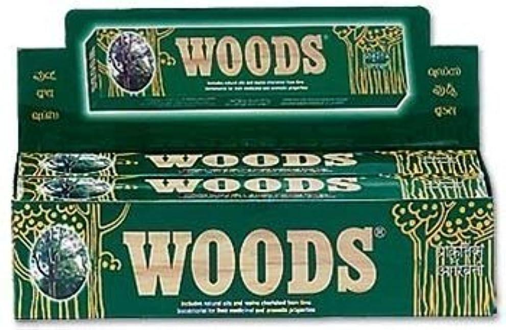みなさん知る大理石Woods Natural Incense - Wholesale Pack