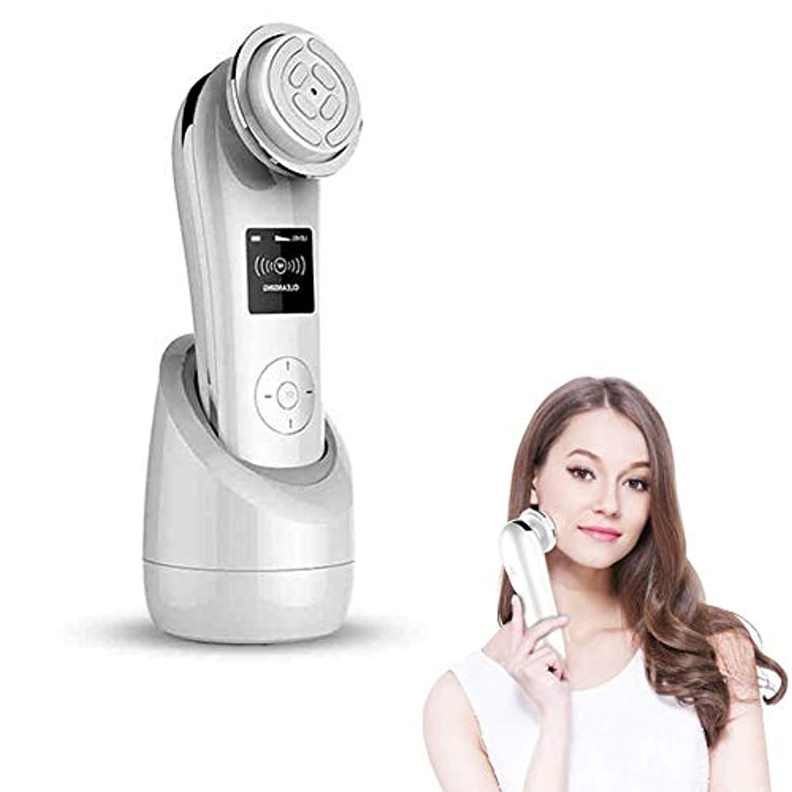 RFスキンリジェネレイティングホワイトニングフェイシャルマッサージャー美容機EMSシワ除去リフトファーミングフェイシャルスキンケア美容機器フェイシャルマッサージャー