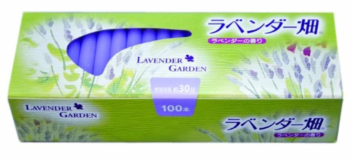 太陽深く大惨事キャンドル ラベンダー畑30分 ラベンダーの香り