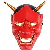 般若 お面 般若マスク 赤