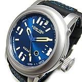 【世界限定】 LUM-TEC (ルミテック) 600M-2 Abyssシリーズ 日本製 Miyota 9015自動巻きムーブメント搭載 600M防水 レザーベルト ホワイト×ブルー 腕時計[並行輸入品]