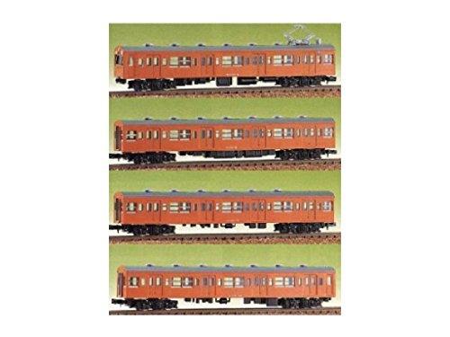 Nゲージ 432 JR101系 4輌セット (未塗装車体キット)