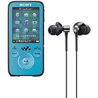 SONY ウォークマン Sシリーズ 4GB FM付 ブルー NW-S636F/L