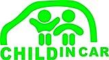 ノーブランド 緑 CHILD IN CAR ステッカー チャイルドインカー baby in car 赤ちゃん 子ども 乗せてます