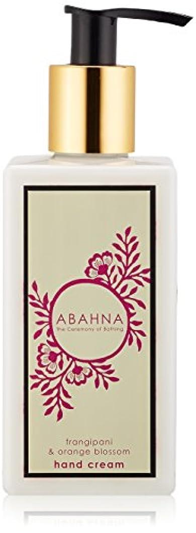 石鹸無効にする消化アバーナ ハンドクリーム フランジパニ&オレンジブロッサム 250ml