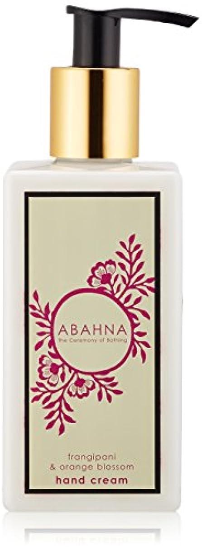 ナプキン愛情深い間接的アバーナ ハンドクリーム フランジパニ&オレンジブロッサム 250ml