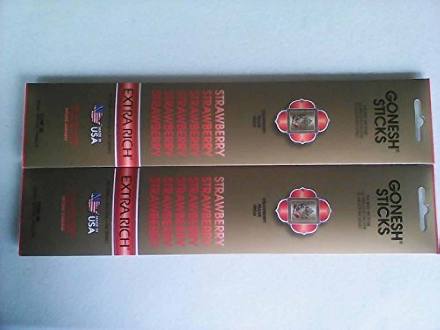 マトン先行する会話型Gonesh 20803 Strawberry Incense Sticks 20 Count ( Pack of 2 )