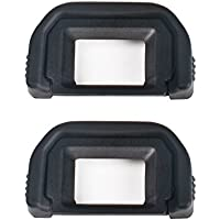 CamRebel EOS Kiss X6i X7i X7 X9i X9 X8i X8対応 ブラックCanon Ef 交換用 カメラファインダーアイカップ (EC-EF2)