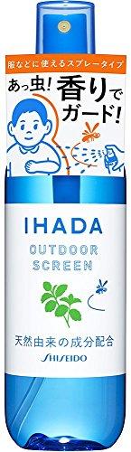 資生堂薬品 イハダ アウトドアスクリーン 香りのバリアで虫を寄せ付けないスプレー ディート無配合 天然由来の成分配合 50ml 約330回分