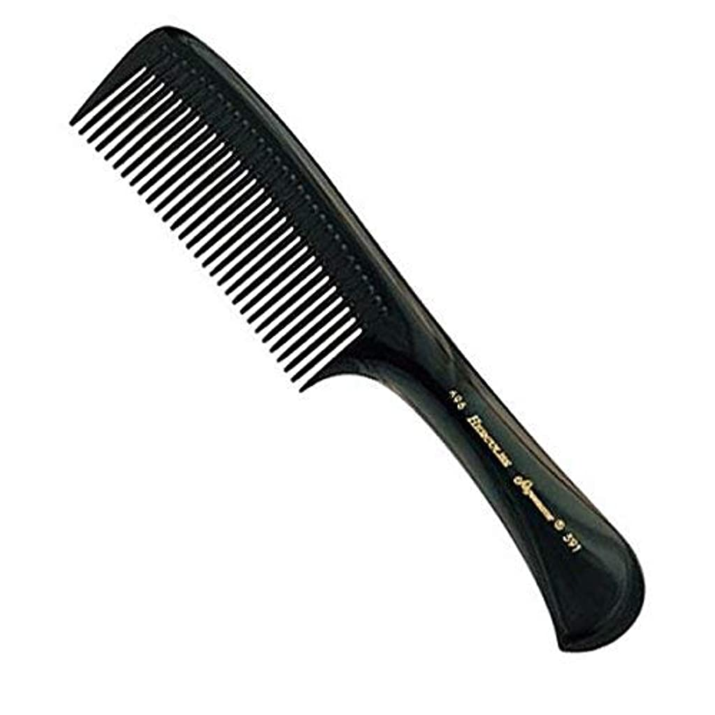 移行する透けて見える仲良しHercules Sagemann Seamless Handle Detangling Hair Comb, 22.7 cm Length [並行輸入品]