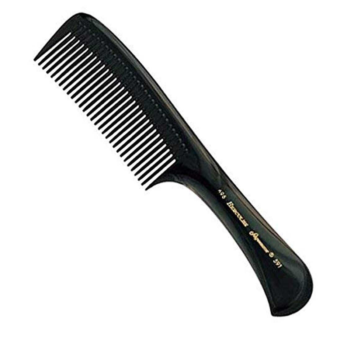 ポーズ債権者記念碑Hercules Sagemann Seamless Handle Detangling Hair Comb, 22.7 cm Length [並行輸入品]