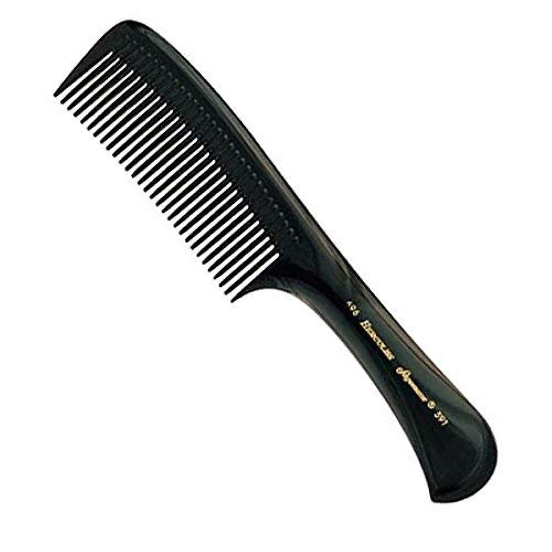 メタリック喉頭浮くHercules Sagemann Seamless Handle Detangling Hair Comb, 22.7 cm Length [並行輸入品]