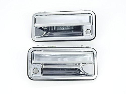 シボレー C1500/K1500/C2500/K2500/C3500/K3500 (88y〜99y) 交換式 メッキ ドアハンドル ドアノブ